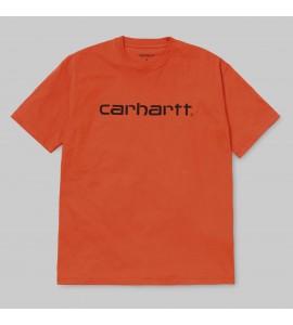 CAMISETA CARHARTT SCRIPT T-SHIRT NARANJA