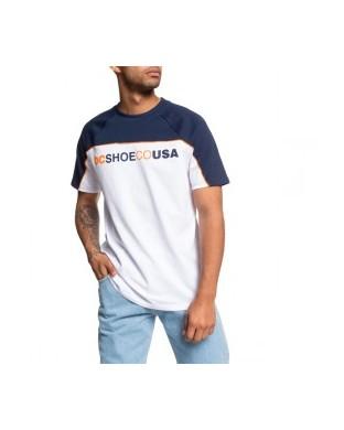 T-SHIRT DC BROOKLEDGE SS WHITE