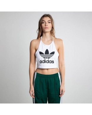 TOP ADIDAS TREFOIL BLANCO