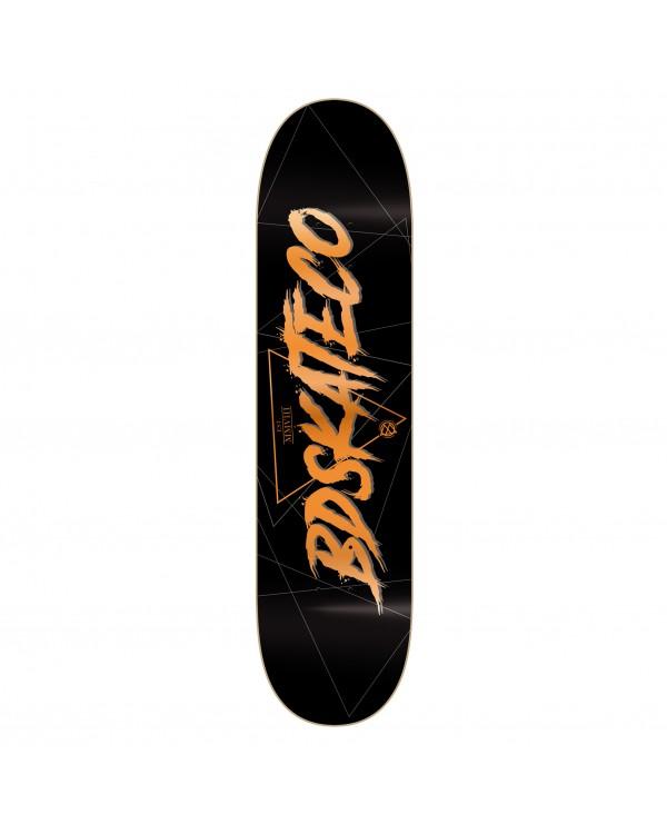 BDSKATECO skate deck Script black