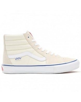 ZAPATILLAS VANS SKATE SK8 HI OFF WHITE